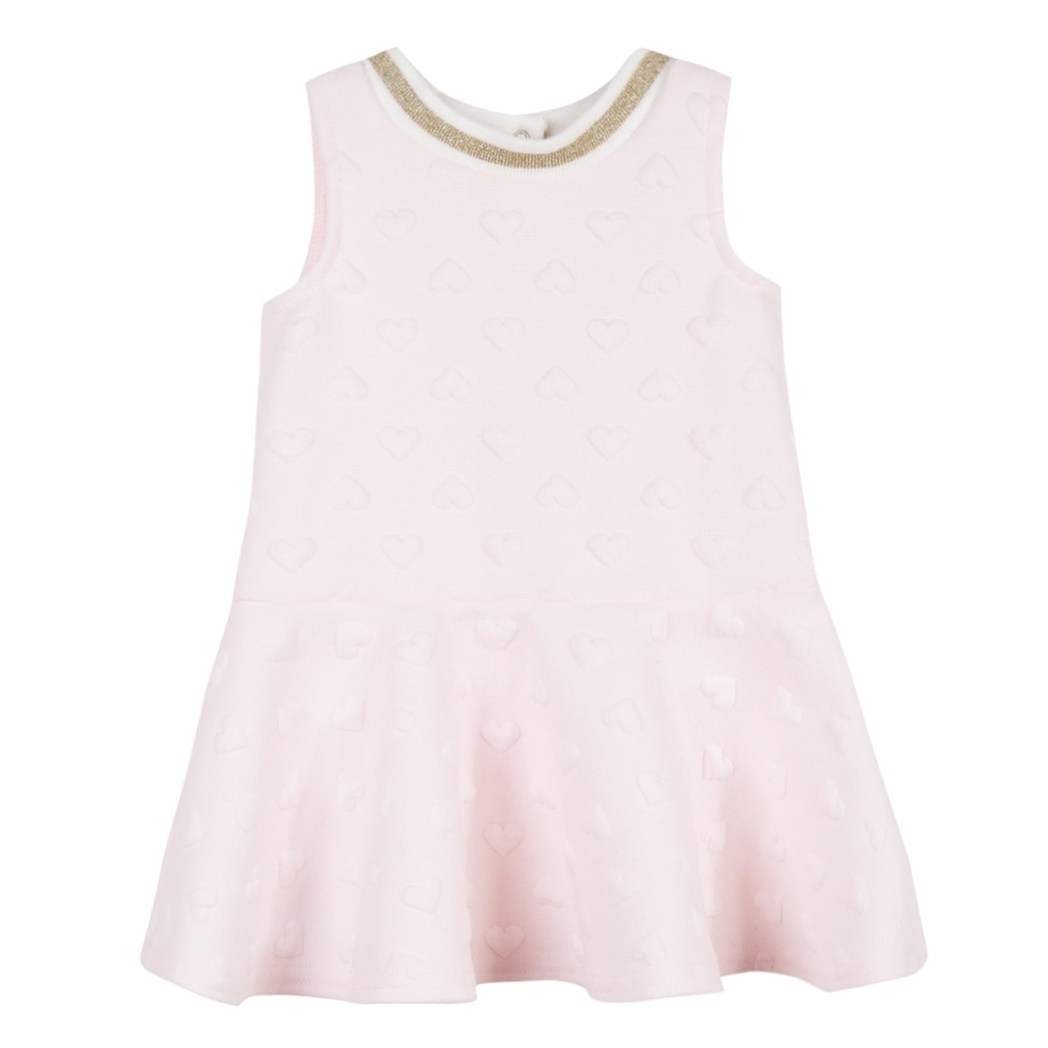 Baby & Toddler Girls Heart Embossed Dress