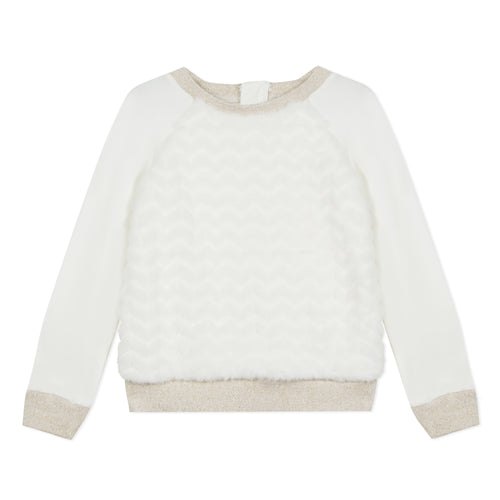 Girls Pearl Autumn Sweater