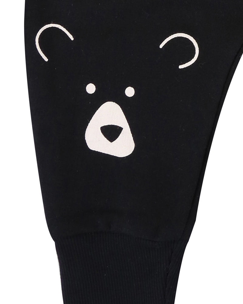 Unisex Bear Head Sweatpants