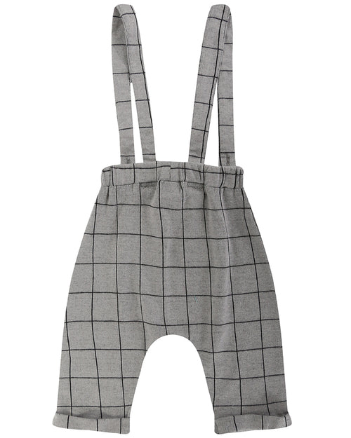 Boys Jacquard Check Trouser