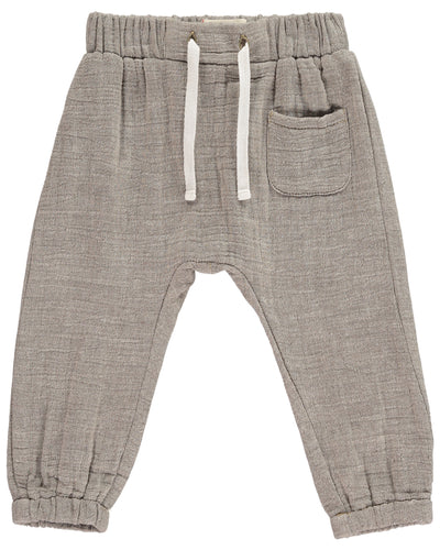 Baby & Toddler Boys Cotton Tie-Cord Pants