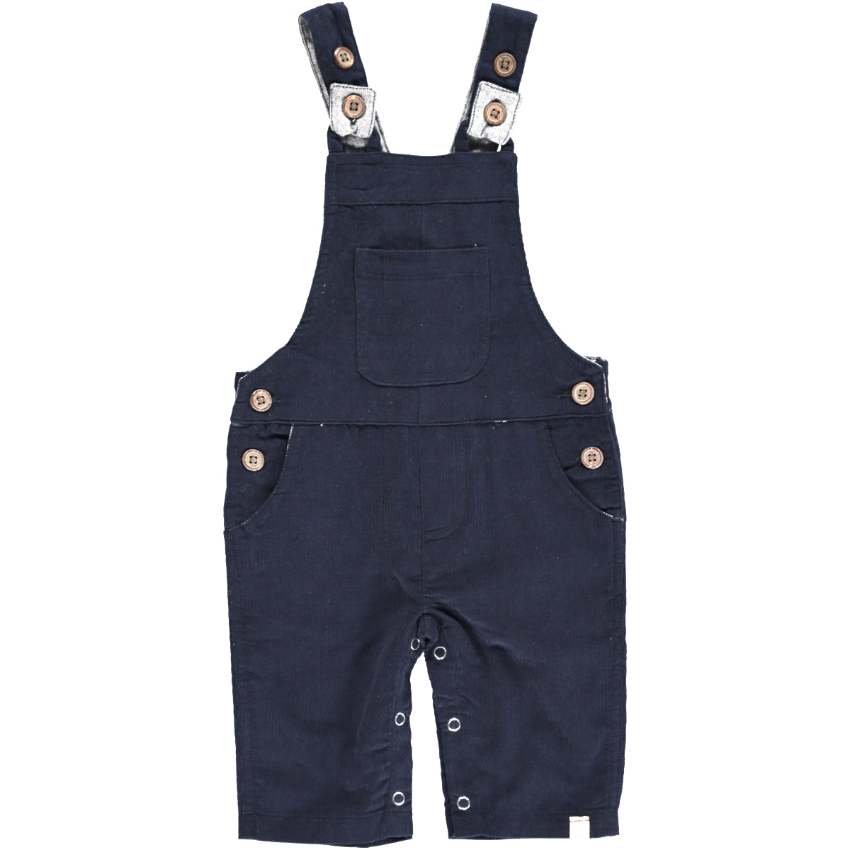 Baby Boy Navy Cord Overalls