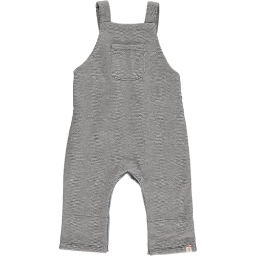 Baby Boy Grey Sweat Overalls