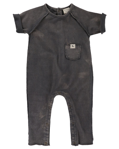 Unisex Baby & Toddler Sweat Playsuit