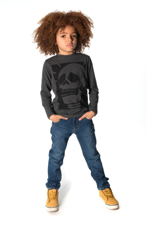Boys Black Light T-Shirt