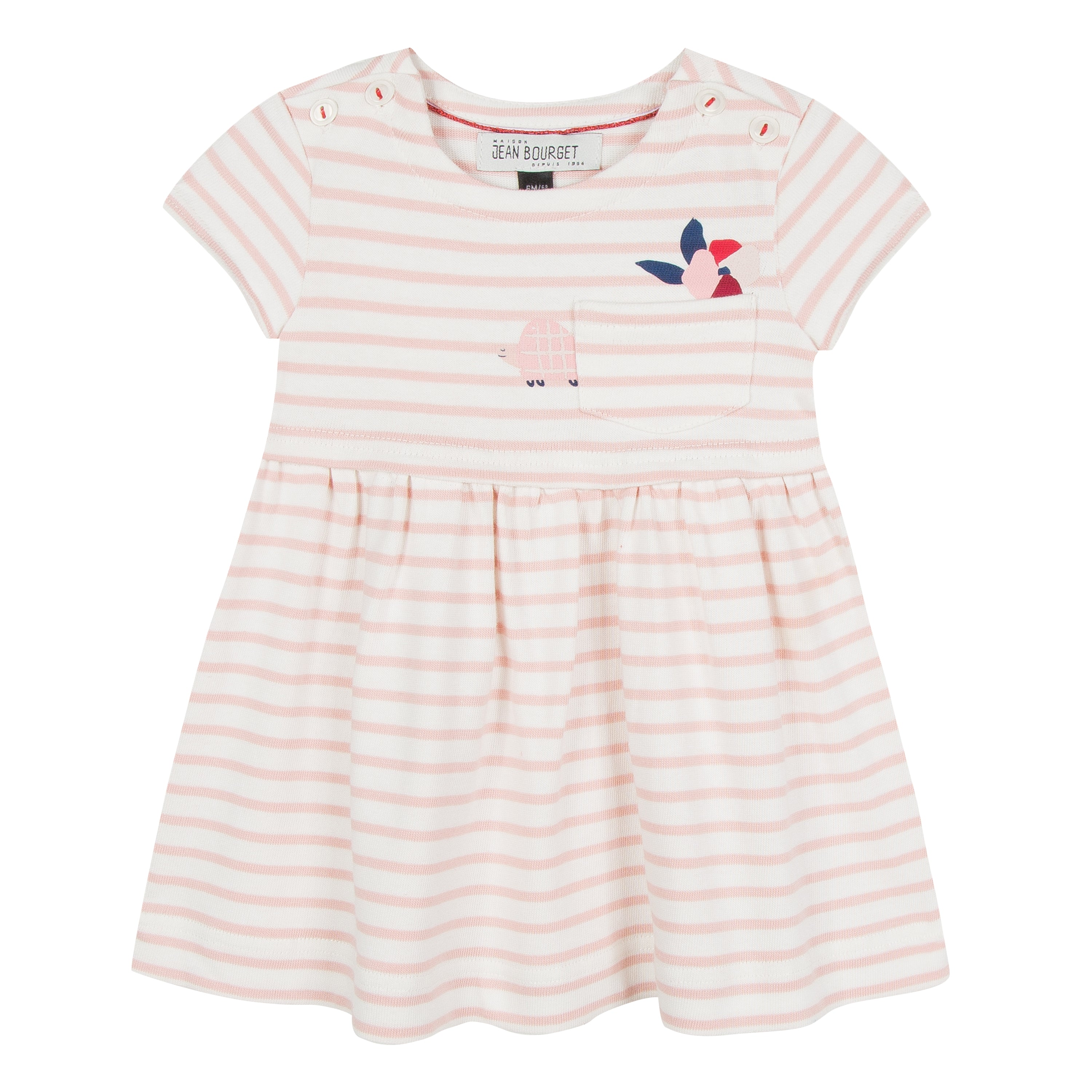 fa52ea371 Baby   Toddler Girl Striped Rose Dress – House of Sofella