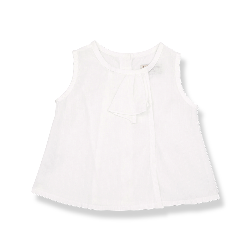 Baby Girls Textured Voile Blouse
