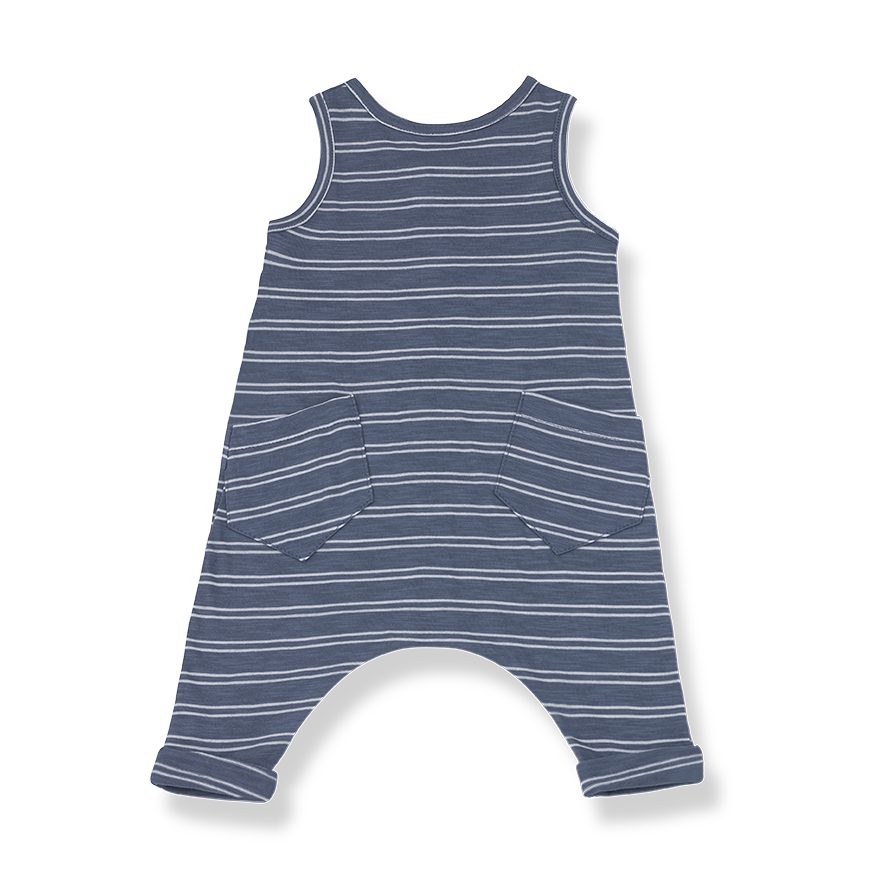 Baby Boy or Baby Girl Sleeveless Overalls
