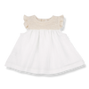 Baby Girls Organic Cotton Waffle Dress