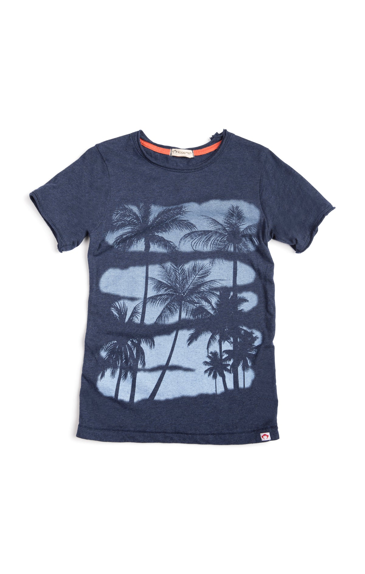 Boys Graphic Palm Tree Short Sleeve T-Shirt