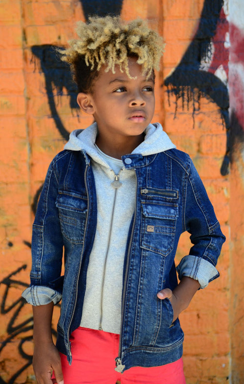 Boys Dilinger Denim Jacket