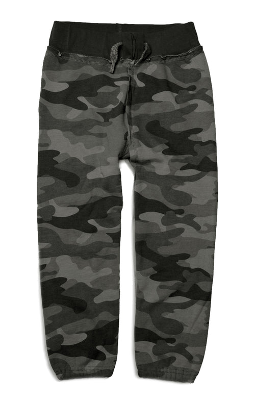 Boys Camouflage Sweat Pants