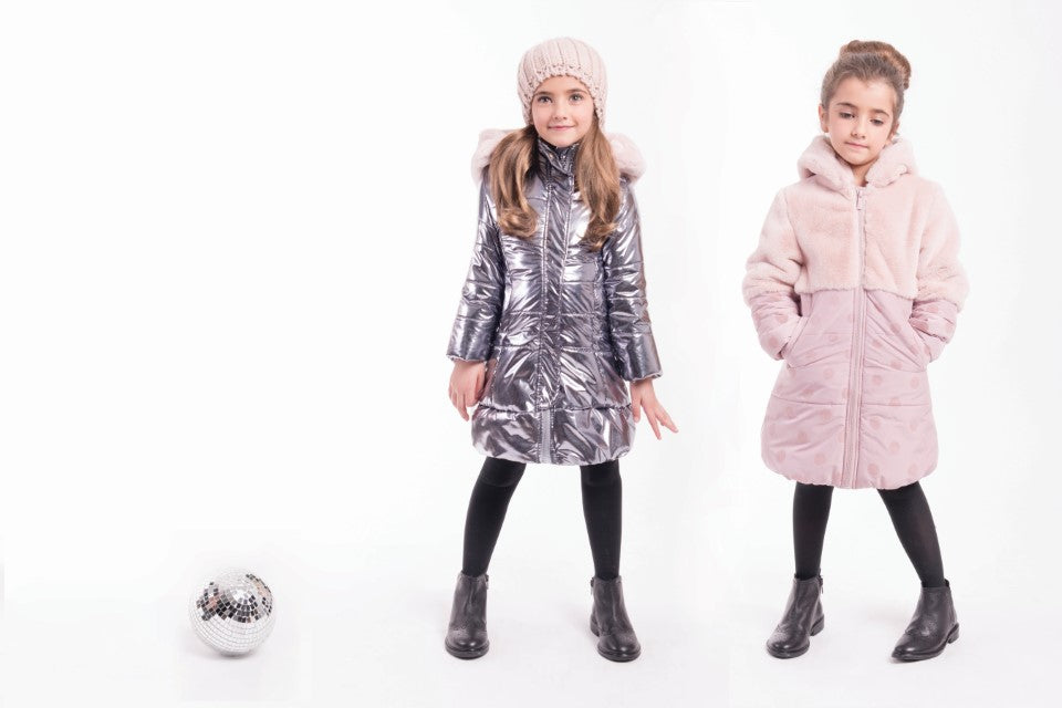 Girls Shiny Coat