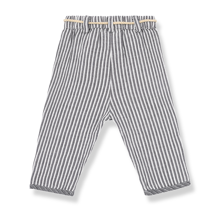 Baby Girls Striped Pants