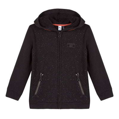 Boys Cotton Hoodie With Zippers