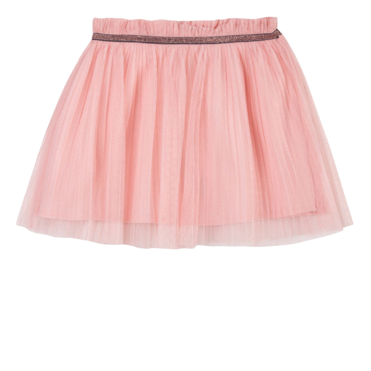 Girls Pink Petticoat Skirt With Tule