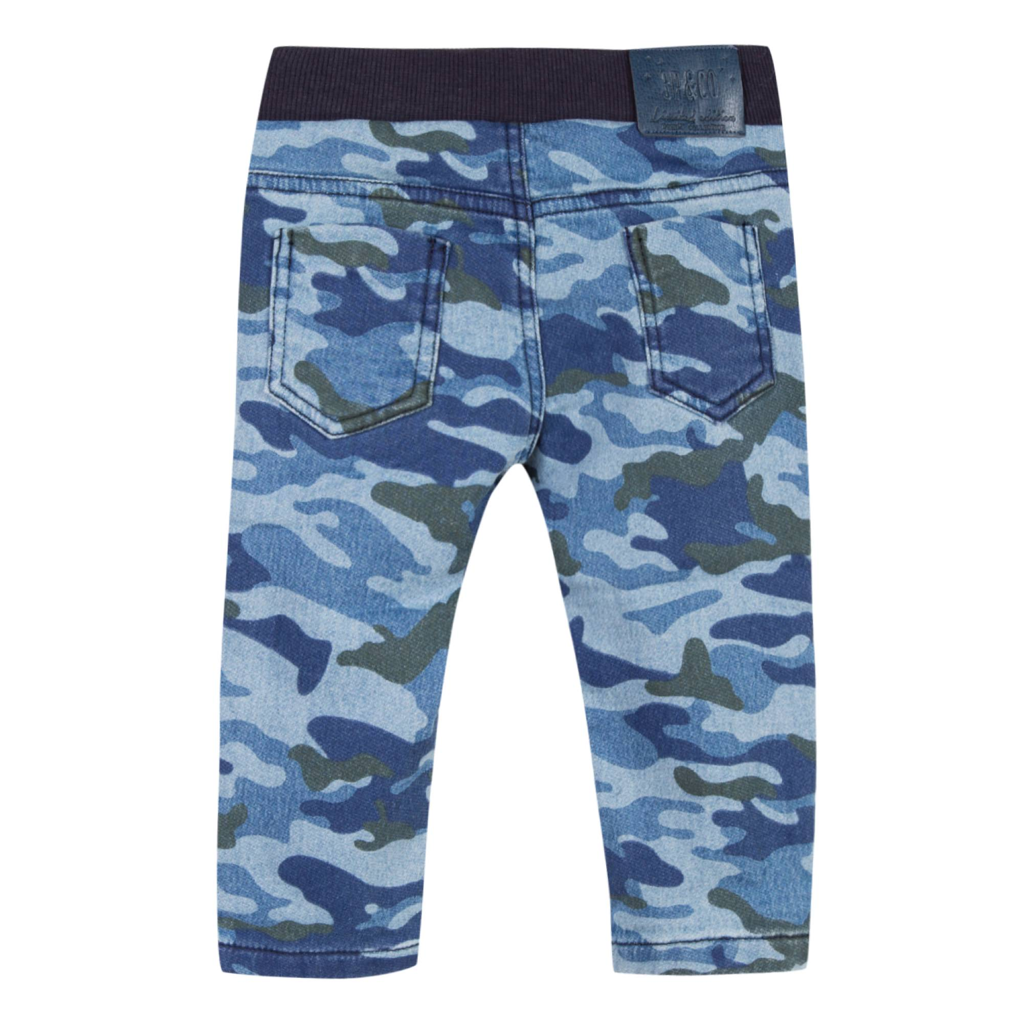 Baby & Toddler Boys Blue Camouflage Jean