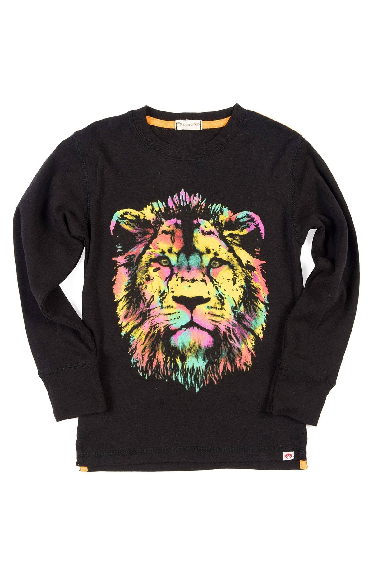 Boys Lion Face T-Shirt