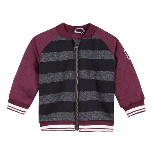 Baby & Toddler Boys Fleece Rock Zip Up Jacket