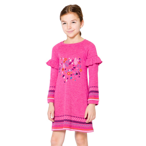 Girls Unicorn Jersey Top