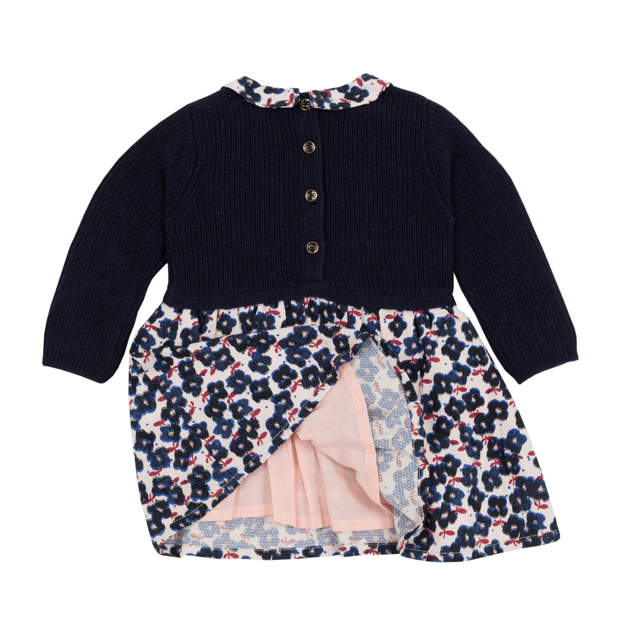 Baby & Toddler Girls Floral Print Knit Dress
