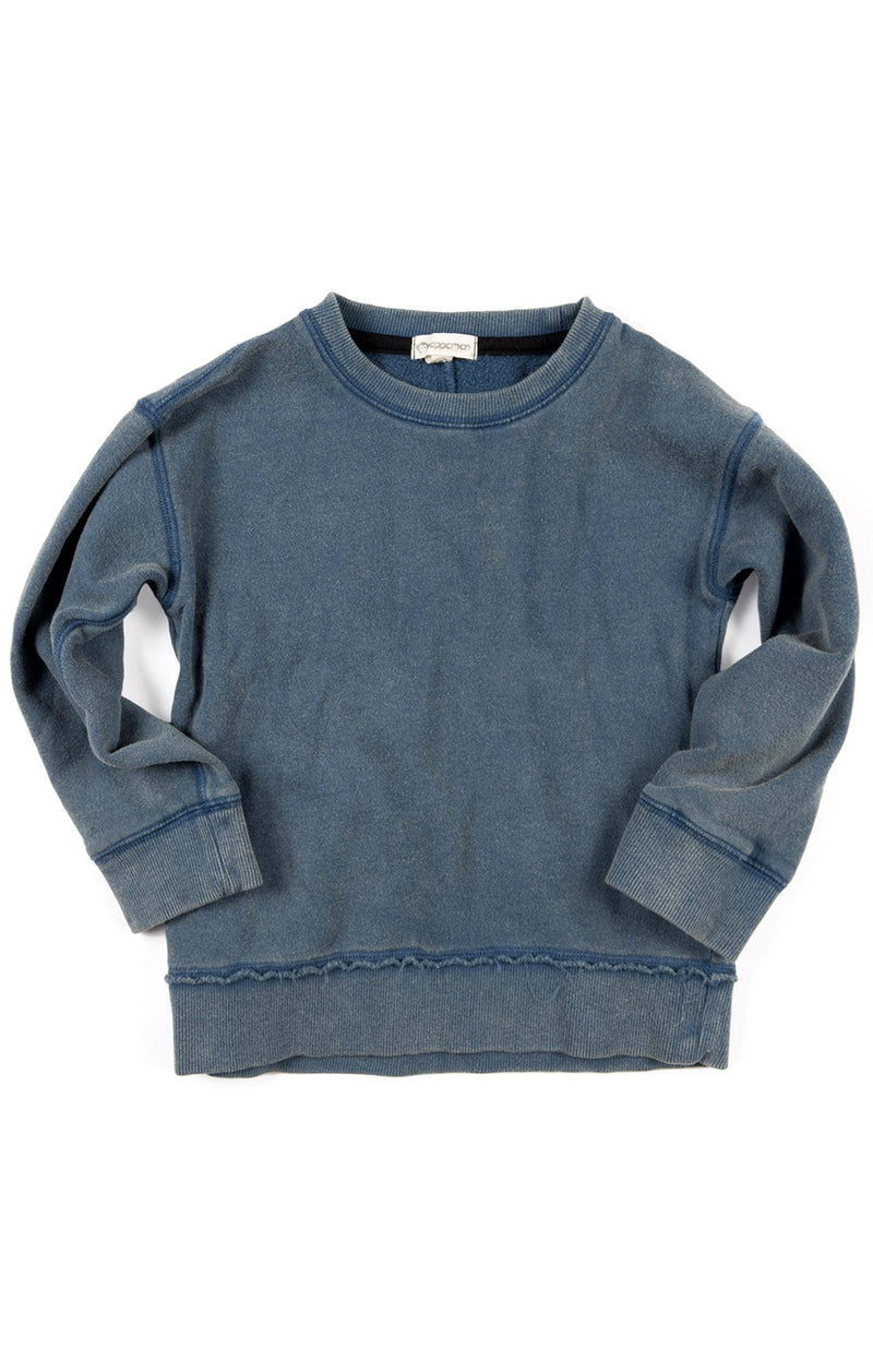 Boys Denim Navy Sweatshirt