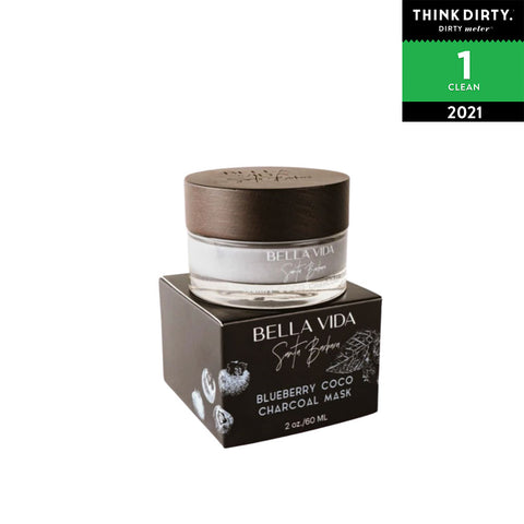 Bella Vida SB - Blueberry Coco Charcoal Clay Mask