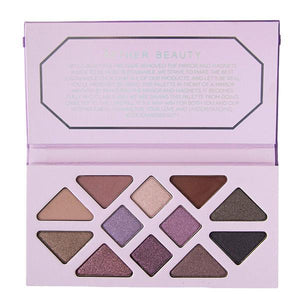Aether Beauty - Amethyst Crystal Gemstone Palette