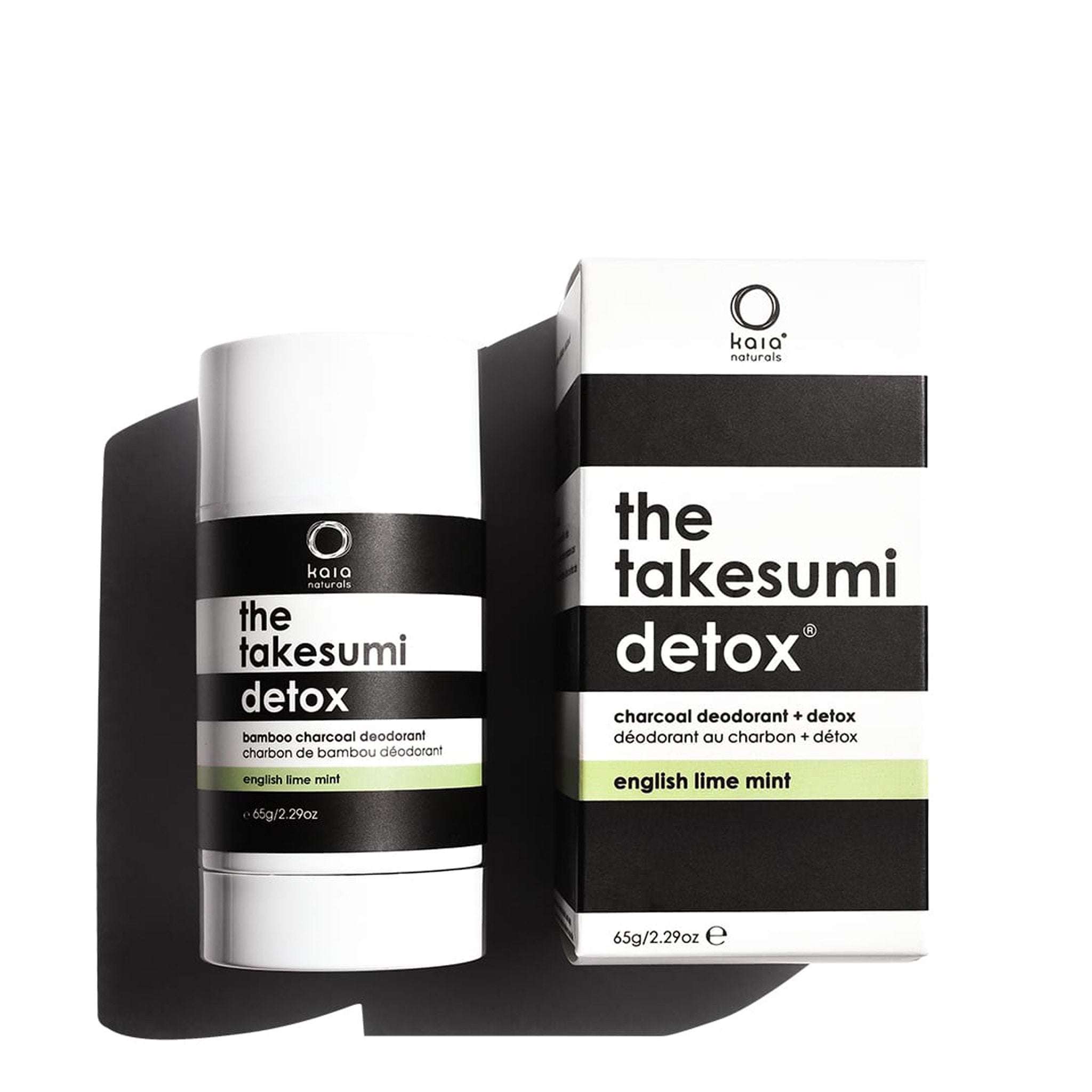 Kaia Naturals - The Takesumi Detox - English Lime Mint