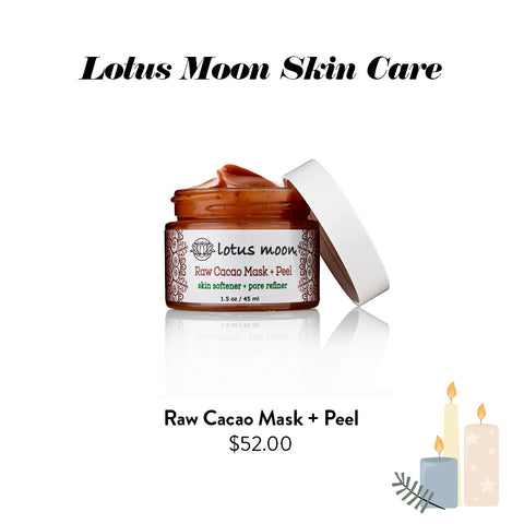 Lotus Moon Skincare - Raw Cacao Mask + Peel