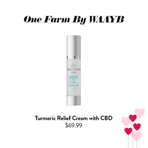 One Farm By WAAYB - Turmeric Relief Cream with CBD