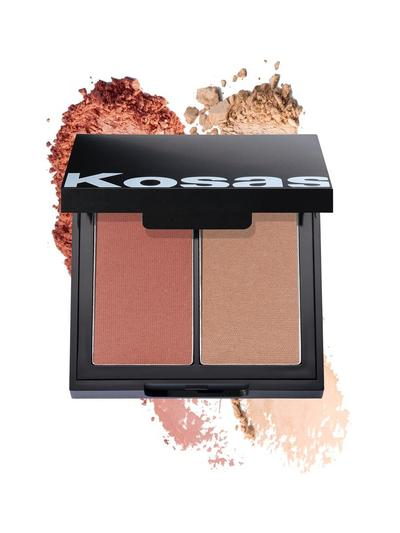 Kosas - Color & Light Palette: Powder Blush and Highlighter High Intensity