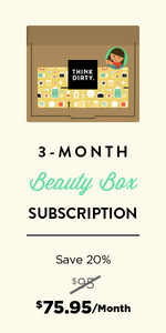 Think Dirty Clean Beauty Box - July 3 Month Subscription  Auto renew