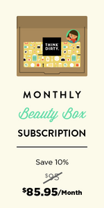 Think Dirty Clean Beauty Box - Monthly Subscription - Feb 2019