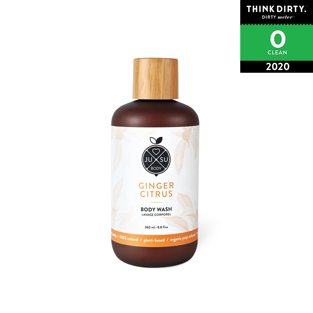 JUSU Body - Ginger Citrus Body Wash