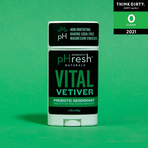 Honestly pHresh - Vital Vetiver Prebiotic Mineral Deodorant for Men