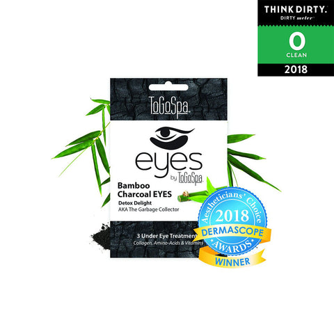 ToGoSpa Bamboo Charcoal Eyes