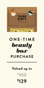 Think Dirty Clean Beauty Box - Holiday Box at 50% OFF
