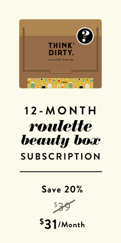 Clean Beauty Roulette Box - 12-Month Subscription