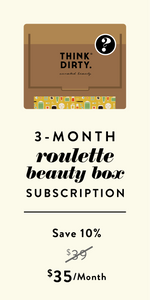 Clean Beauty Roulette Box - 3-Month Subscription