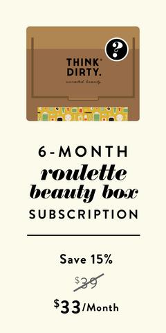 Clean Beauty Roulette Box - 6-Month Subscription