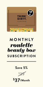 Clean Beauty Roulette Box - Monthly Subscription