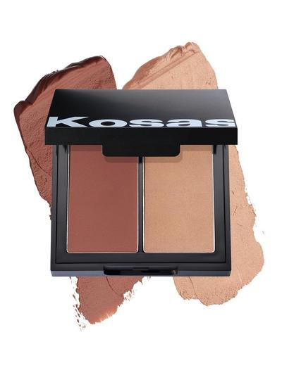 Kosas - Color & Light Palette: Cream Blush and Highlighter High Intensity