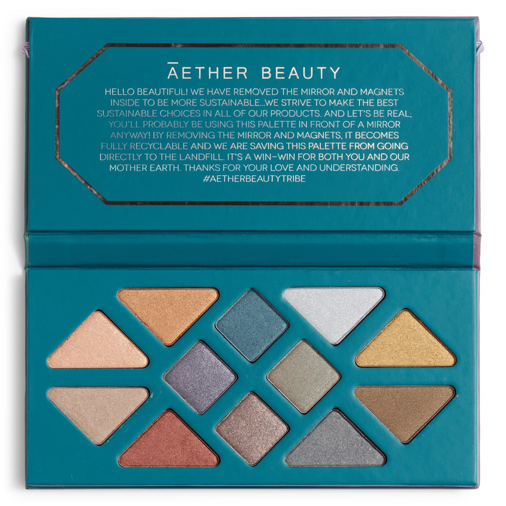 Aether Beauty - Crystal Grid Gemstone Palette