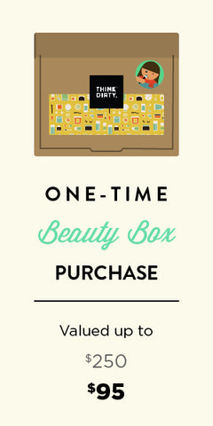 Think Dirty Clean Beauty Box - One-time Purchase