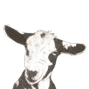 Wildshed limited edition print - goat