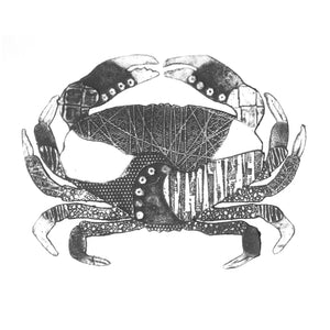 Wildshed limited edition print - crab grey