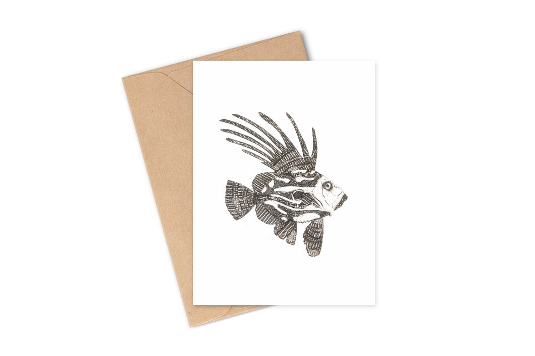 Wildshed greetings cards - dory
