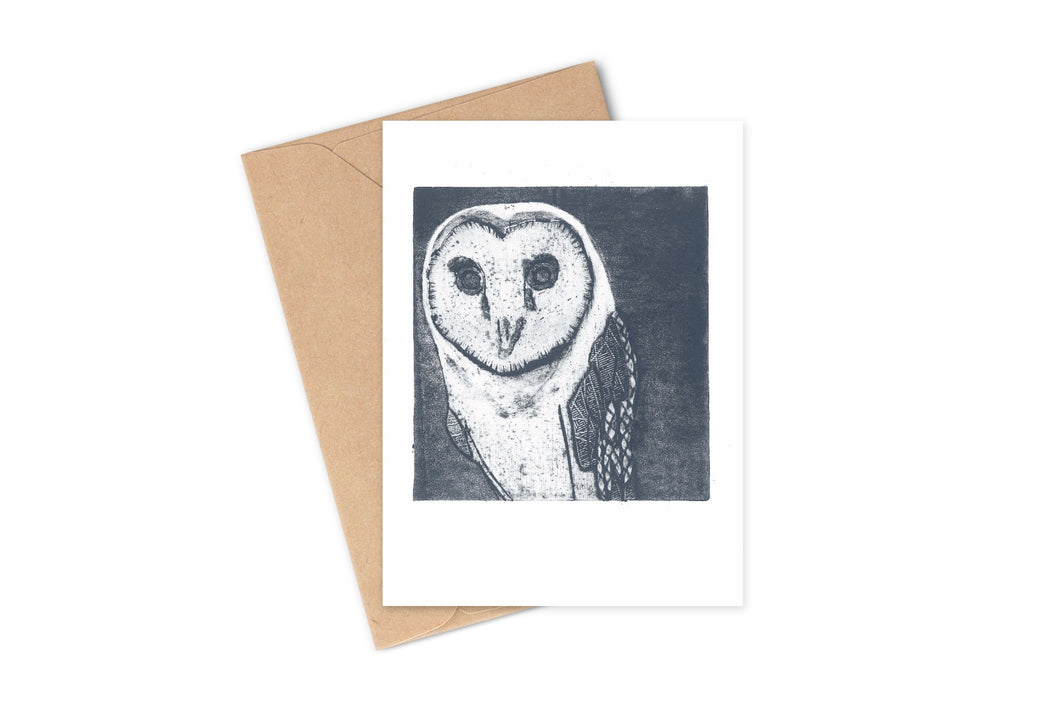 Wildshed greetings cards - owl