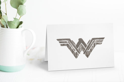 Wildshed greetings cards - woman of wonder